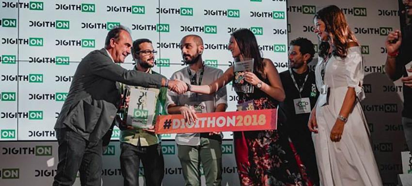 Premiazione Digithon 2018
